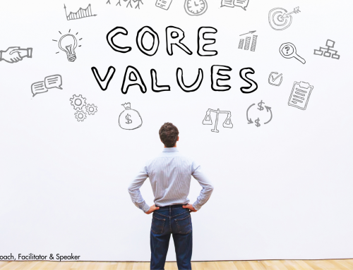 Values on the wall